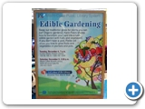 Edible Gardening in the Tropics lectures at the Miami Dade Public Library